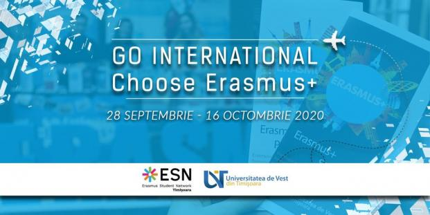 Go International is a project implemented in Timișoara by the Erasmus Student Network (ESN) Timisoara in collaboration with the Department of International Relations of the West University of Timișoara.